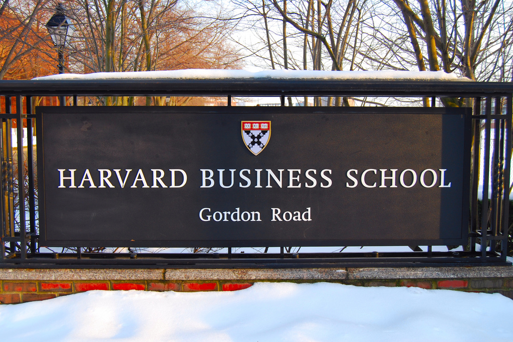 [Photo by Particia Drury.] The HBS 2+2 is one of the few early admit MBAs around the world