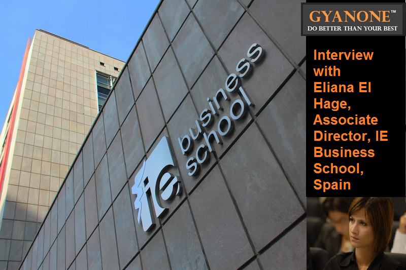 Gyanone 39 s interview with ie mba admissions eliana el hage for Business school madrid